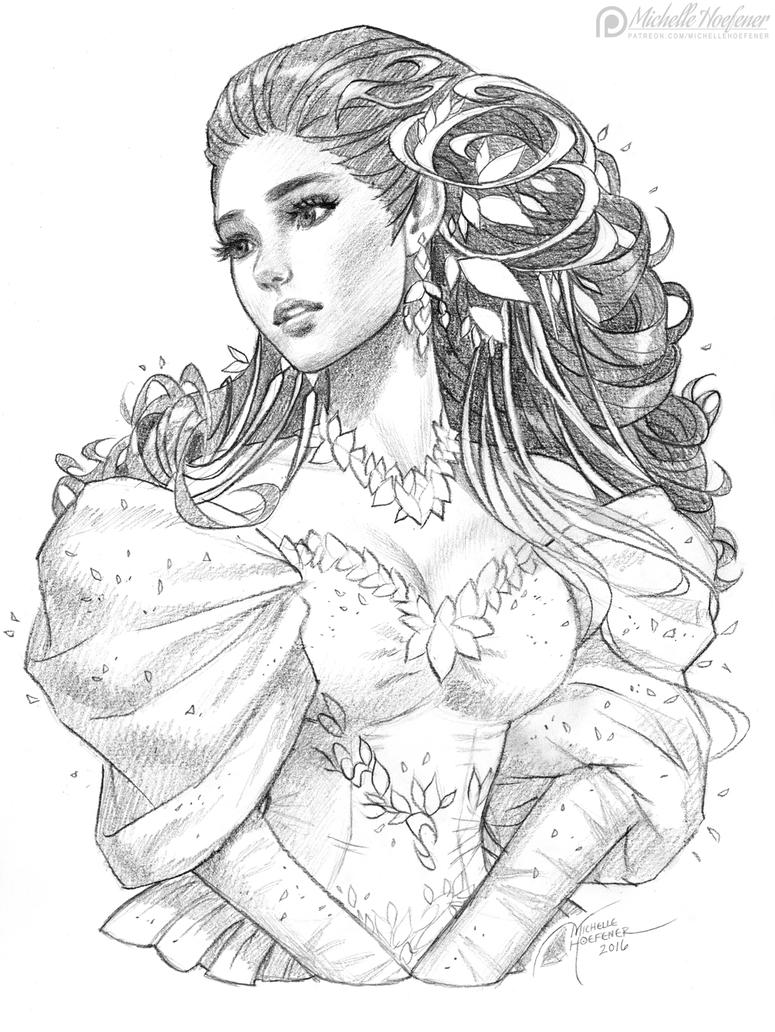 Labyrinth 39 s sarah by michellehoefener on deviantart for Labyrinth coloring pages