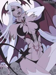 Succubus Lilitha - Line Art