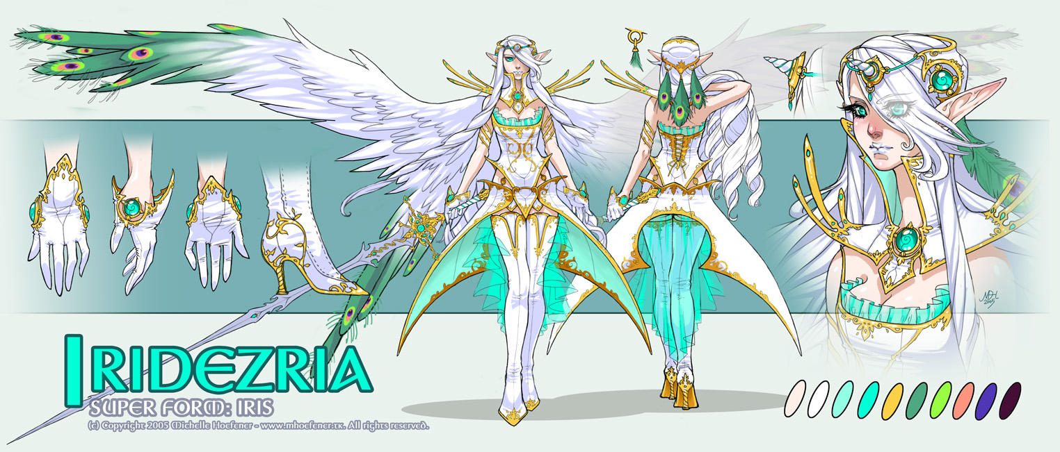 Iridezria - Concept Art by MichelleHoefener