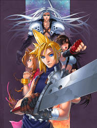 Final Fantasy VII - Fanart by MichelleHoefener