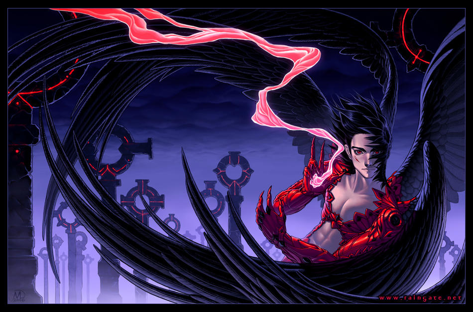 Part 14 / 13 __The_Crow_Of_Crimson___by_Michelle84