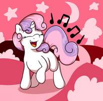 Sweetie Sings by GrapheneDraws