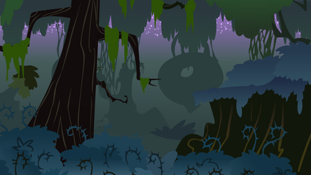 Night in the Everfree Forest by Tajarnia