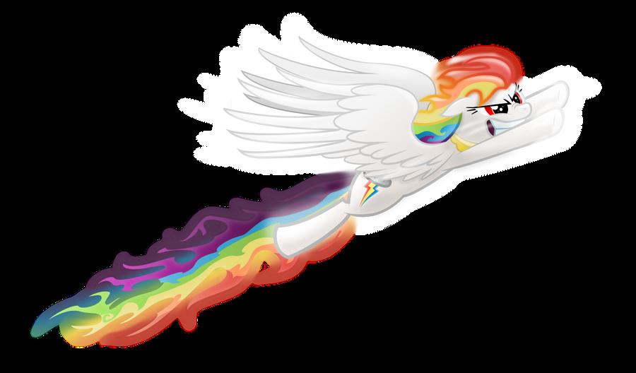 Super Rainbow Dash by Tajarnia