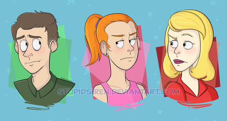 [RnM] - Jerry, Summer, and Beth by StupidSiren