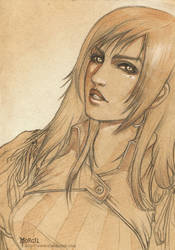 Warhammer RPG character : Nina by Obsidiurne-Morgil