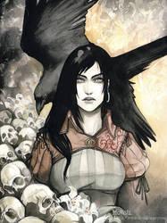 Warhammer RPG Character: Nina2 by Obsidiurne-Morgil