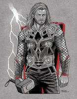 God of Thunder by 93Cobra