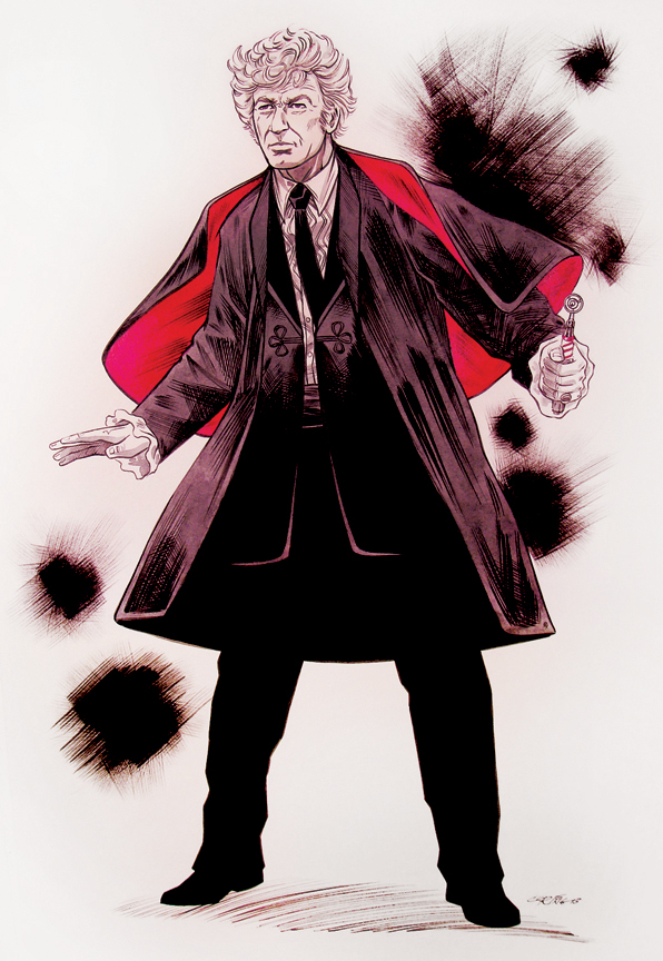 The 3rd Doctor by 93Cobra