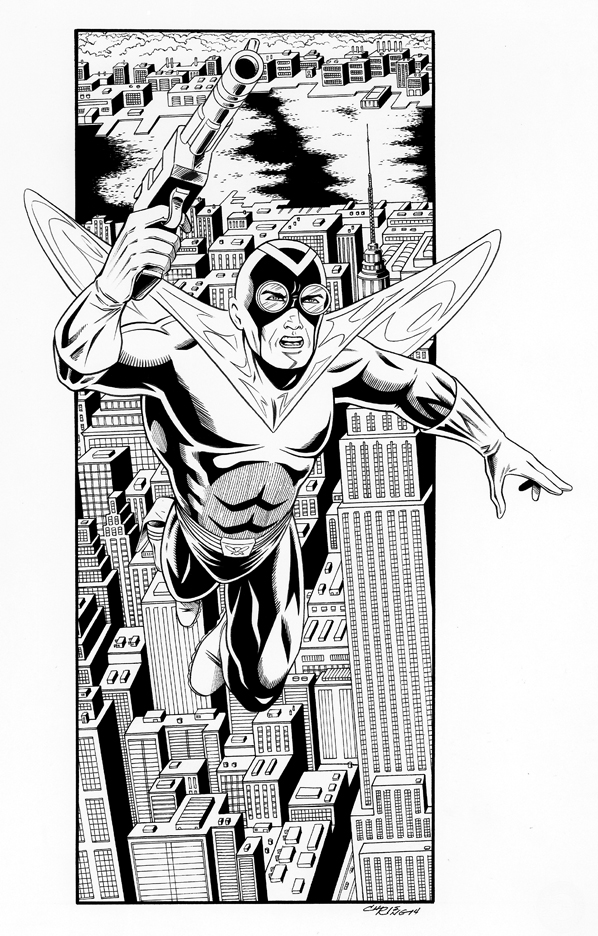 The Fly - inks by 93Cobra