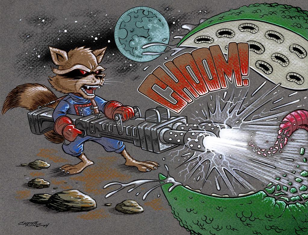 Rocket Raccoon by 93Cobra