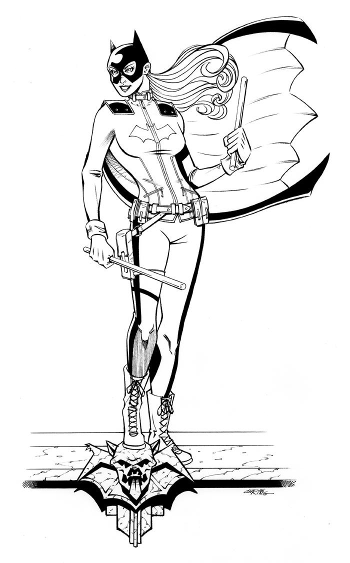 Batgirl by 93Cobra