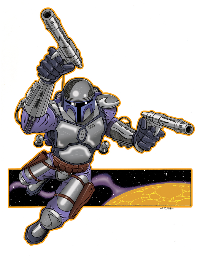 Jango Unchained by 93Cobra