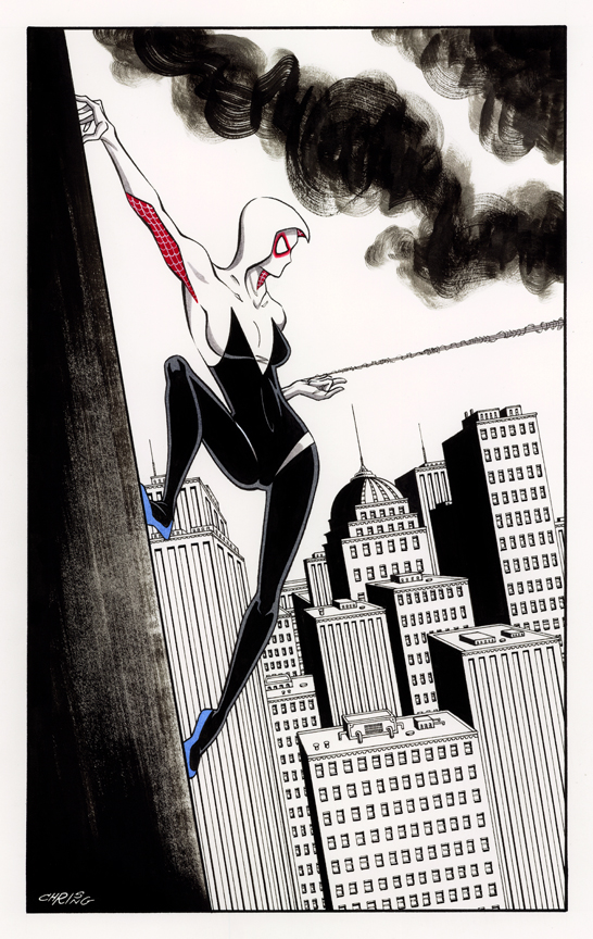 Gwen Stacy Spidergirl by 93Cobra