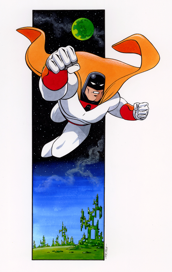 Space Ghost by 93Cobra