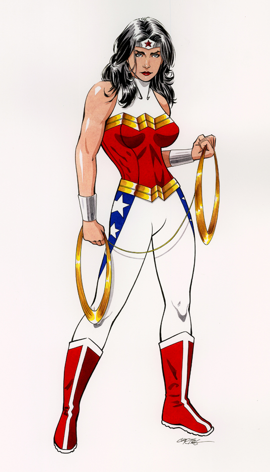 Wonder Woman Costume Redesign by 93Cobra