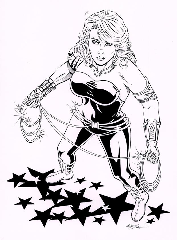 Wondergirl inks by 93Cobra