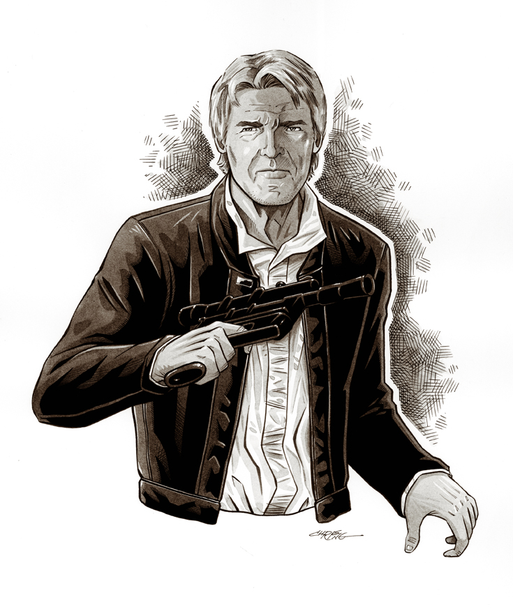 Han Solo by 93Cobra