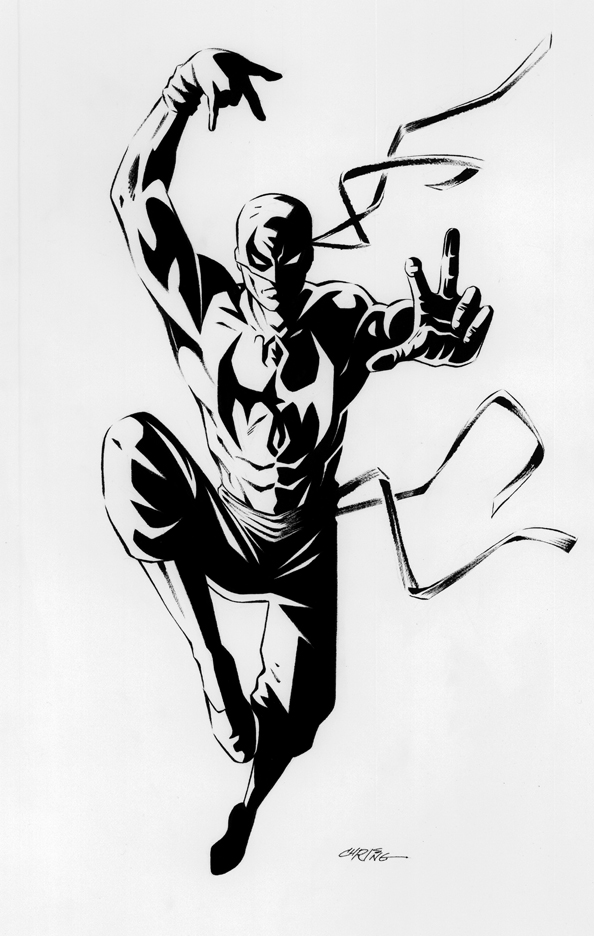 Iron Fist - Pencils/Inks by 93Cobra