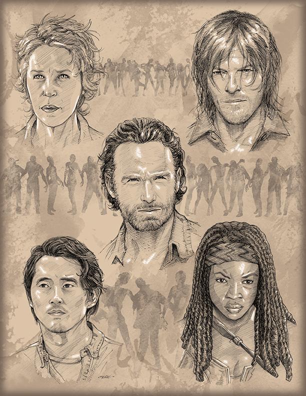 The Walking Dead by 93Cobra