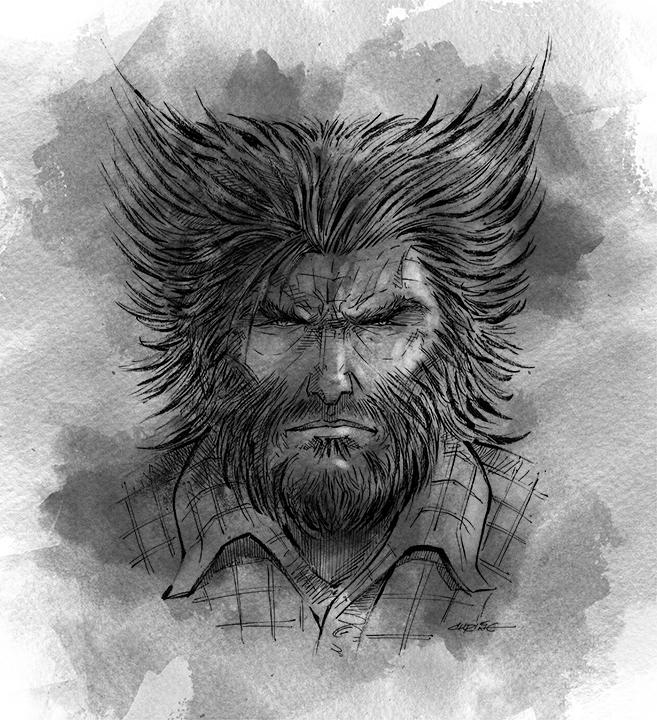 Old Man Logan by 93Cobra