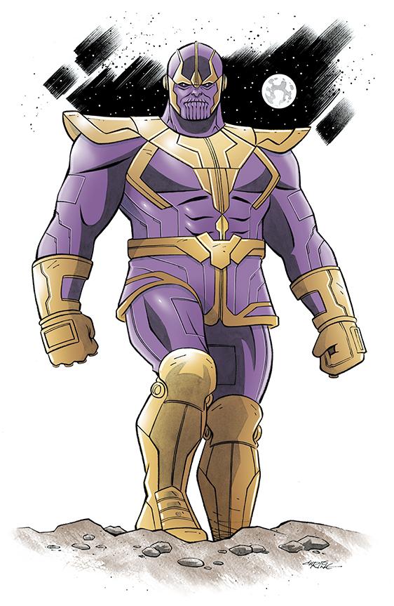 Thanos by 93Cobra