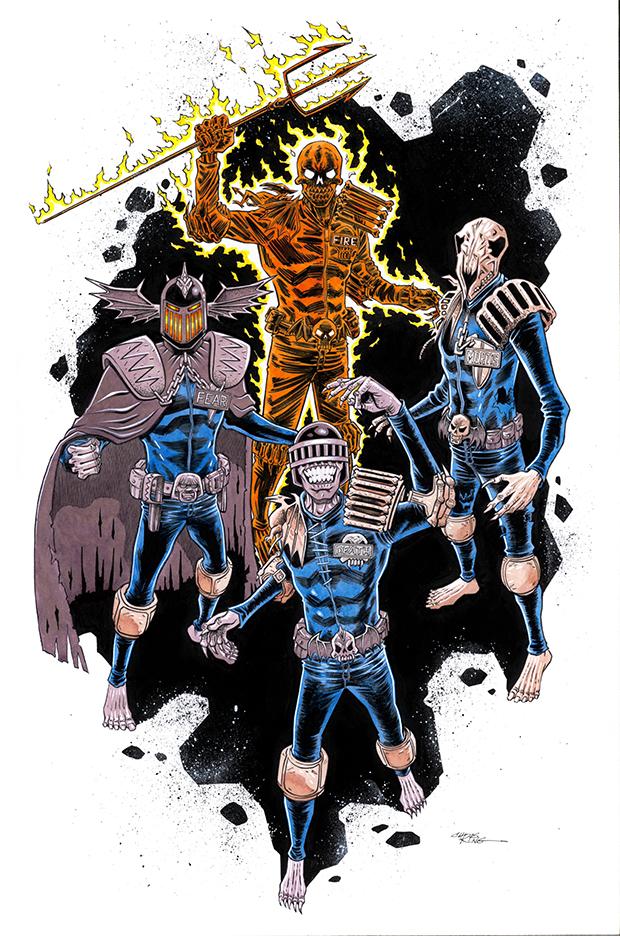 The Dark Judges by 93Cobra