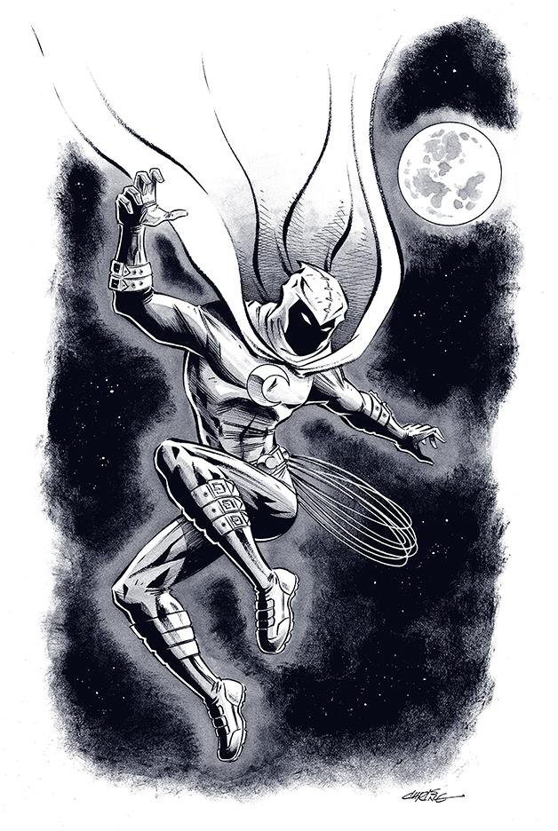 Moon Knight by 93Cobra