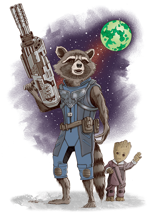 Rocket and Groot Vol. 2 by 93Cobra