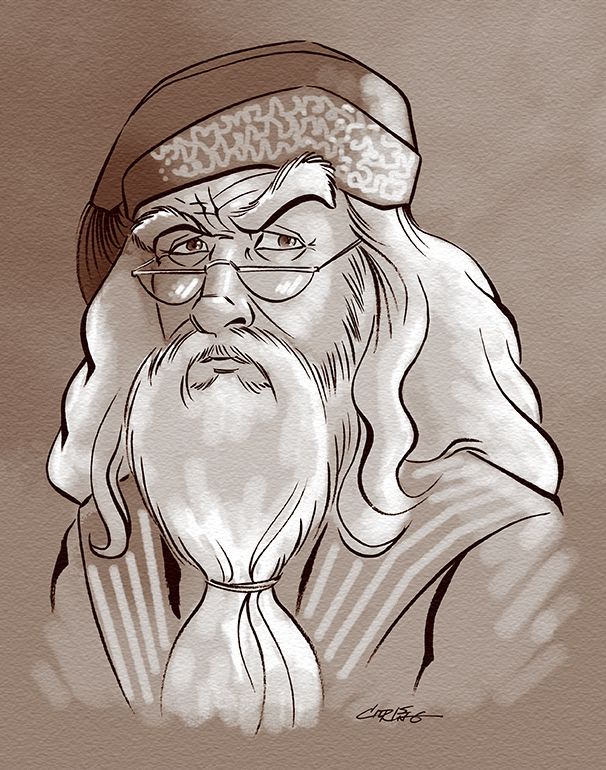 Dumbledore by 93Cobra