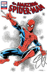 Spiderman Sketch Cover by 93Cobra