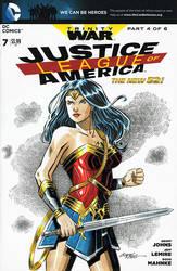 Wonder Woman sketch cover by 93Cobra