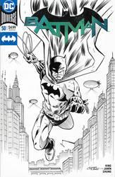 Batman Sketch Cover by 93Cobra