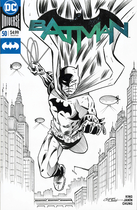 Batman Sketch Cover by 93Cobra