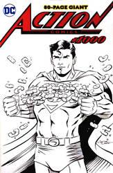 Superman Sketch Cover by 93Cobra