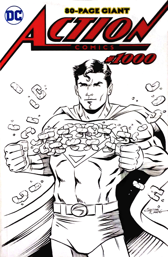 Superman Sketch Cover by 93Cobra