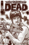 The Walking Dead Day Sketch Cover