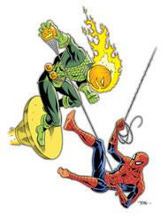Spiderman vs Jack-o-lantern by 93Cobra