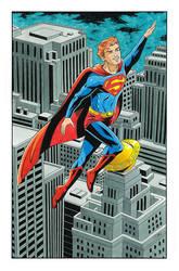 Jimmy Olsen as Superman - color by 93Cobra