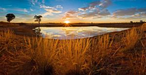 Outback Dam Sunrise 2