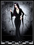 Halloween VI - Morticia by poserfan