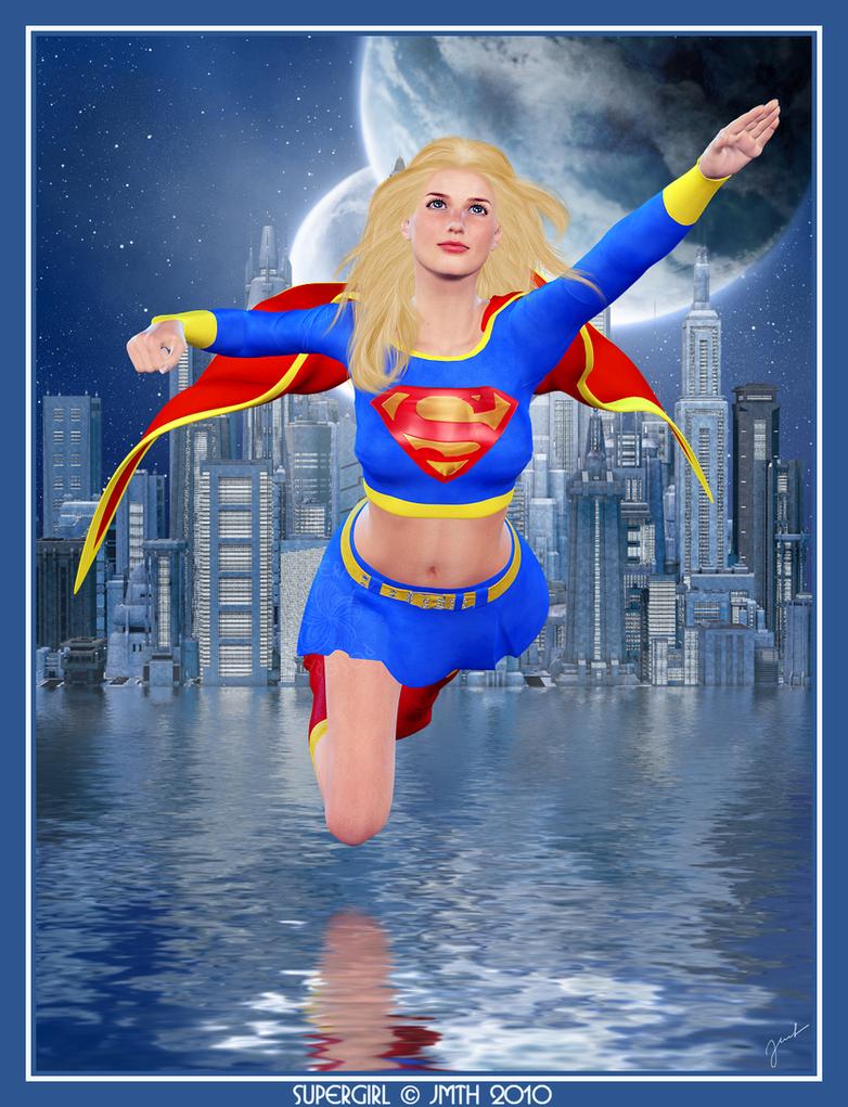 Supergirl II - New 52 - DC Comics by FioreSofen on DeviantArt