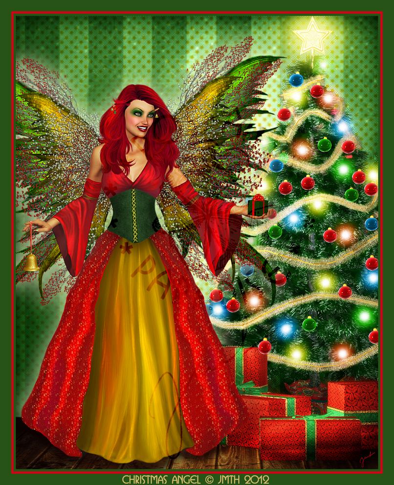 .:*``*``*:.Christmas Angel.:*``*``*:. by poserfan