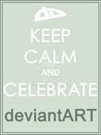 Keep Calm and Celebrate deviantART