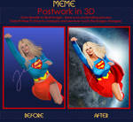 Supergirl - Postwork Meme