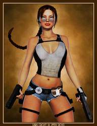 Lara Croft by poserfan