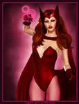 Scarlet Witch II by poserfan