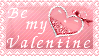 Be my Valentine Stamp by poserfan