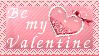 Be my Valentine Stamp by poserfan