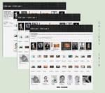 Stylish B/W Gallery CSS Vol.1